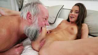 Petite Teen Fucks Dad's Friend